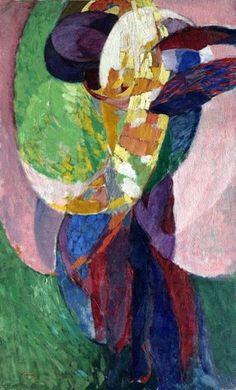 Kupka, Frantisek (1871-1957) - 1910-11 Amorpha: Fugue in Two Colors II (Cleveland Museum of Art, USA)