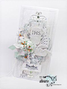 363. IHS Cute Cards, Communion, Inspiration, Handmade, Shabby, Sketch, Scrapbooking, Diy, Invitation Cards