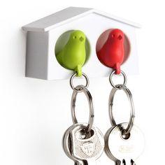 Держатель и брелок для ключей двойной Mini Sparrow