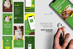 Vegan podcast stories post keynote by rivatxfz on @creativemarket Instagram Design, Instagram Story, Company Presentation, Social Media Template, Editing Pictures, Ig Story, Journal Cards, Keynote Template, Design Bundles