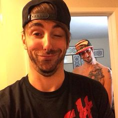 Alex and Jack making funny faces! :)