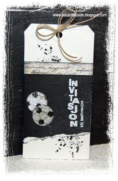 papirdesign-blogg: Invitasjon til konfirmasjon Scrapbook, Cards, Ideas, Scrapbooking, Maps, Thoughts, Playing Cards, Guest Books, Scrapbooks