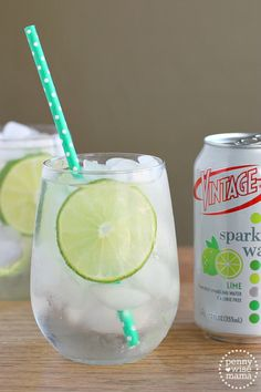 Gin Rickey - A refreshing blend of gin, lime juice and sparkling water