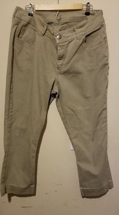 1d9d7662f032 Riders by Lee Women's Midrise Bootcut Khaki Pants Size 18W Casual #fashion  #clothing #