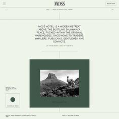 Modern minimalist web design - Fonts used: Basic Commercial . Modern web design and layout. Website Layout, Web Layout, Layout Design, Website Ideas, Minimal Web Design, Modern Web Design, Flat Design, Website Design Inspiration, Best Website Design