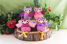 DIY: Owl Plushies   Free Sewing Pattern   http://adventures-in-making.com/diy-owl-plushies-free-sewing-pattern/
