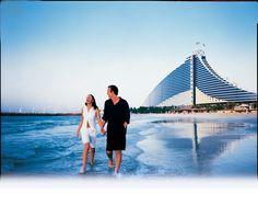 Jumeirah Beach Hotel, Dubai - Family Holidays - Beach Walk