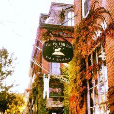 The Pig Hill Inn. Cold Spring, NY  via Flickr
