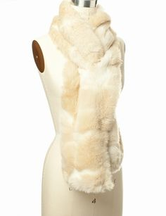 Faux Fur Keyhole Scarf | Women's Accessories | THE LIMITED