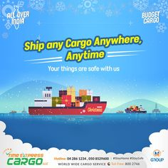 Cargo Services, Transportation, Budgeting, Container, Delivery, Ship, World, Free, Budget Organization