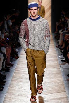 Bottega Veneta Spring/Summer 2016 Men's #Fashion Collection includes #crochet hats