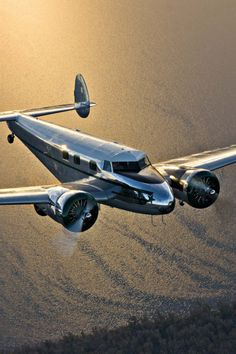 "mr-1: "" gentlemensherald: ""  Lockheed 12A Electra Junior NC18097 Photo by Ed Hicks "" Mr-1 """