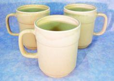 3 Sturdy 12 Ounce Pfaltzgraff Coffee Mugs by RichardsRarityRealm