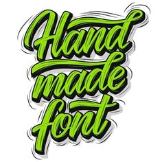 Guys! We are opening our #handmadefontlogo call again! Everyone is welcome to submit the work (picture or video) with your version of our logo. You need to publish it on your Instagram tag @handmadefont and hashtag #handmadefont and #handmadefontlogo The artworks we love the most will be featured on our IG Facebook and YouTube (in case its a video). Here is a nice artowork by @chi_lettering made previously. Get inspired enjoy and we are really longing for your masterpieces!