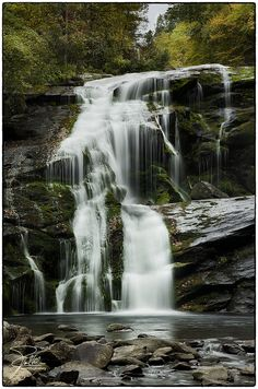 Bald River Falls (30m), Cherokee National Forest, Tellico Plains, Tennessee