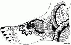 Stylish Mhendi Design
