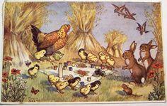 Vintage Easter Postcard   Flickr - Photo Sharing!