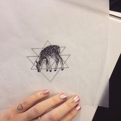 """cashewcide: """" Little deer butts """" Fawn Tattoo, Deer Tattoo, Tattoo Ink, Intricate Tattoo, Future Tattoos, Animal Tattoos, Ink Color, Ink Art, Get Dressed"""