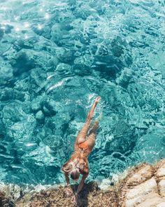 Clear Blue waters x @alettrich