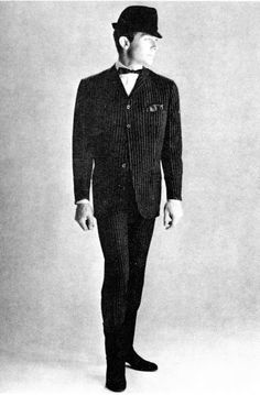 Hardy Amies Four Buttoned Suit, circa the Mod Fashion, Vintage Fashion, Vintage Style, Hardy Amies, Smart Dress, Edwardian Fashion, Popular Culture, Suits You, Stylish Men