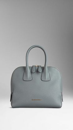 Small Grainy Leather Bowling Bag from Burberry