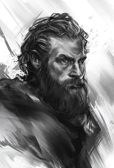Tormund - sketch by on DeviantArt Arte Game Of Thrones, Game Of Thrones Artwork, Kristofer Hivju, The North Remembers, Fire And Ice, Winter Is Coming, Art Sketchbook, Black Art, Fantasy Art