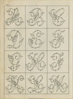 Free Easy Cross, Pattern Maker, PCStitch Charts + Free Historic Old Pattern Books: Sajou No 236