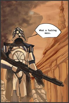 Character development after the Clone Wars aired & TV Hq Star Wars, Star Wars Jokes, Star Wars Rpg, Star Wars Fan Art, Star Wars Clone Wars, Star Wars Pictures, Star Wars Images, Star Wars Drawings, 501st Legion