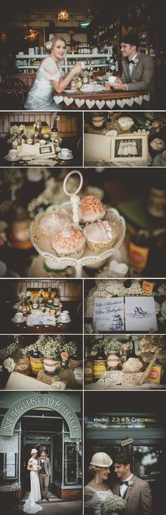 A 1940's Parisian Styled Shoot | Bespoke-Bride: Wedding Blog