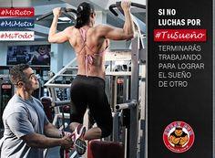 Si no luchas por tu sueño, terminarás trabajando para luchar por el sueño de otro. #Salud #Nutrición #Cardio #Musculacion #Culturismo #Fitness #Gym #ComeSano #SweatGym #SoySweatGym #TerritorioSweatGym #MrSweat #SweatGymxVenezuela #ejercicio #fisicoculturismo