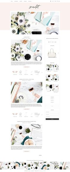 Totally in love with Let\'s Start Something\'s cool yet casual site ...