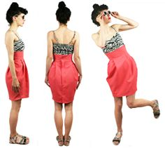 How to make a tulip skirt - FREE PDF Pattern from http://diy-couture.co.uk/how-to.html#