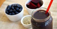 High-Protein Beet Smoothie | POPSUGAR Fitness