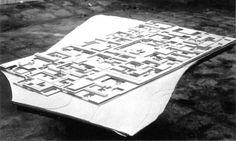 Free University Berlin, Competition Model, 1963  (Candilis Josic Woods)