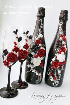 Красивая свадьба Шампанское, королевская свадьба, посуда, свадебный шоколад и бордовый цвета, Свадебные бокалы, свадьба шампанское флейты