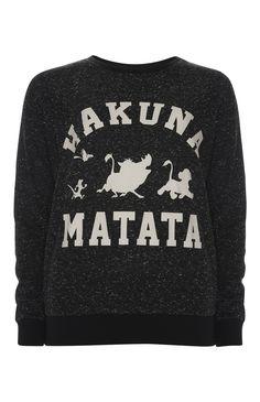 Disney Hakuna Matata Crew Neck Jumper £10 | Primark