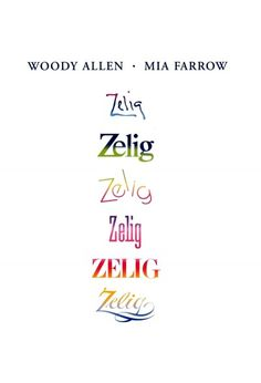 zelig woody allen movies