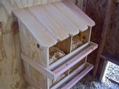 Homestead Revival: The Hen Hilton's New Nesting Boxes
