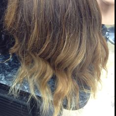 Ombré color I did on my manican!:)