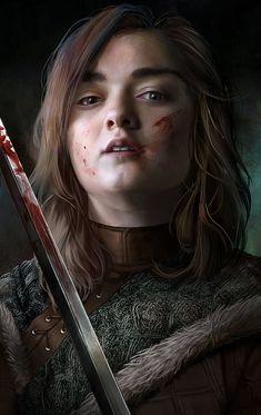 Arya Stark by inermonster.deviantart.com on @DeviantArt