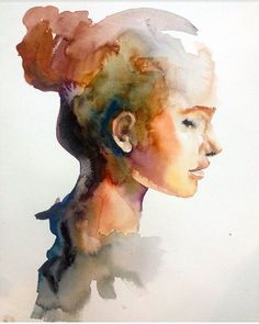 Watercolor painting by @andrei_sharov_art ! #arts_gate @modernbe_