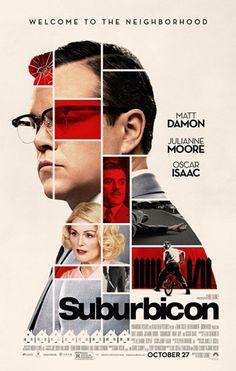 Movie Posters : Suburbicon (2017) dir. George Clooney