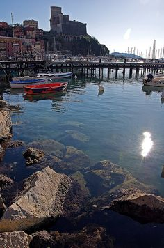Lerici, Liguria, Italy I spent a year living in this beautiful little town.