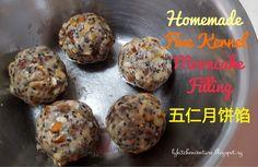 LY's Kitchen Ventures: Homemade Five Kernel Mooncake Filling (五仁月饼馅)
