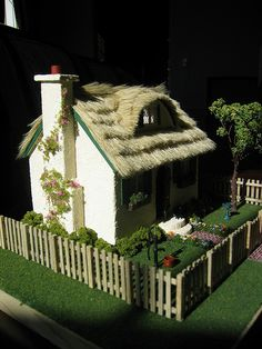 Left side of House by Wyld_Hare, via Flickr-1:48 scale
