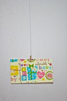 Cartão Postal Artesanal by ArtJessicaTavares on Etsy, $4.00 #postcard #cartãopostal #handmade #craft
