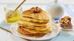 Kanelknuter Fra Bakeriet I Lom - Oppskrift fra TINE Kjøkken Baked Pancakes, Recipies, Appetizers, Food And Drink, Cooking Recipes, Sweets, Dessert, Baking, Breakfast