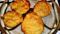 Zemiakové pampúšiky pečené v rúre (fotorecept) - Recept Cornbread, Ale, Muffin, Food And Drink, Cheese, Breakfast, Ethnic Recipes, Millet Bread, Morning Coffee