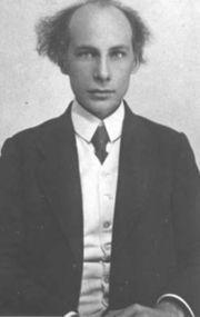 Andrej Belyj, writer and poet (1880-1934)