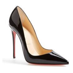See this and similar Christian Louboutin pumps - This glossy So Kate pump boasts Christian Louboutin's finest stiletto heel, set near-vertical to dramatically s...